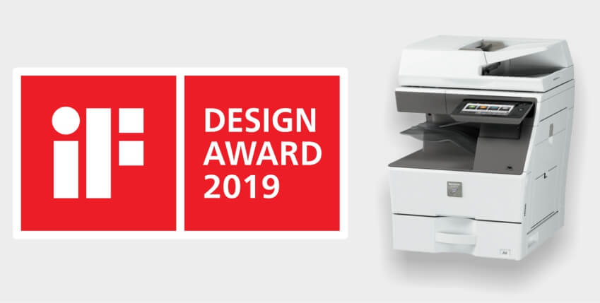 Sharp Wins iF Design Award 2019